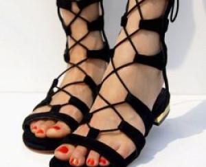 2016 Sandalet – Gladyatör Sandalet Modelleri