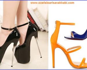 Bayanlara Özel Topuklu Ayakkabı Modelleri