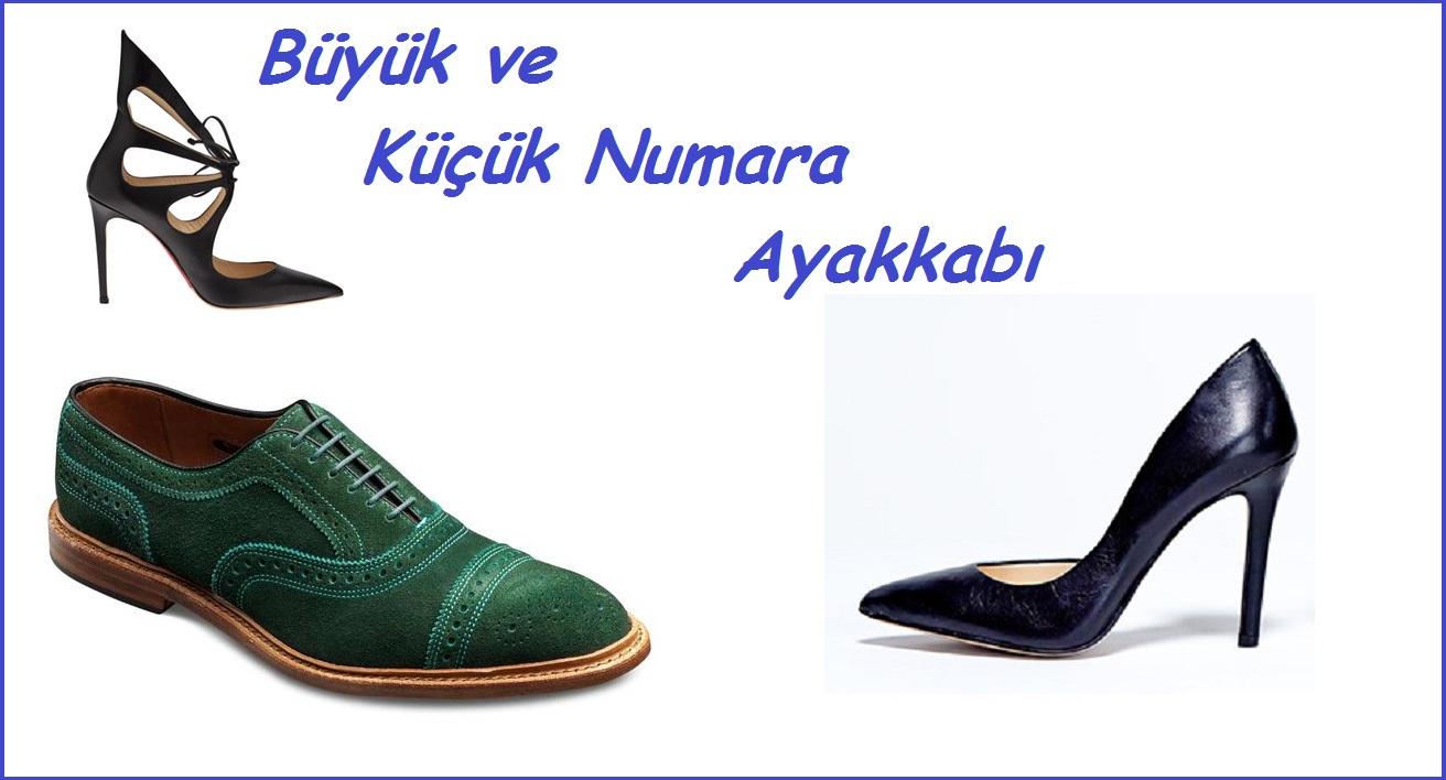 İstanbul'da Büyük Numara Ayakkabı Siparişi