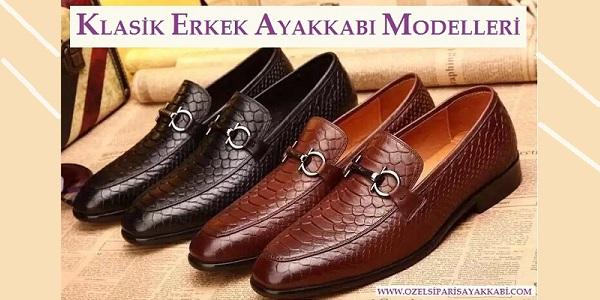 Klasik Erkek Ayakkabı Modelleri – Erkek Ayakkabı Siparişi