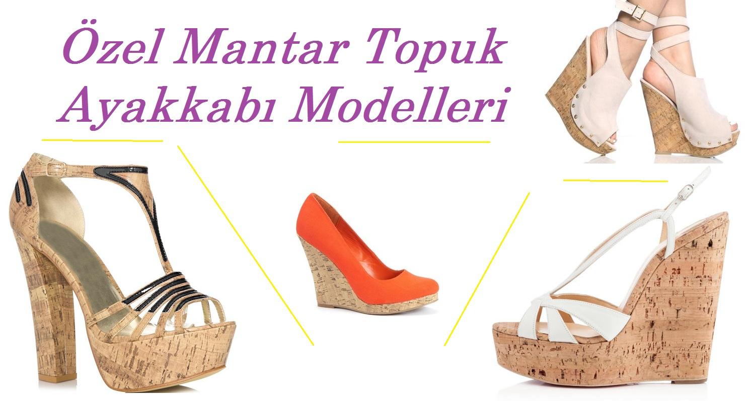Özel Mantar Topuk Ayakkabı Modelleri – Bayan Ayakkabı Siparişi