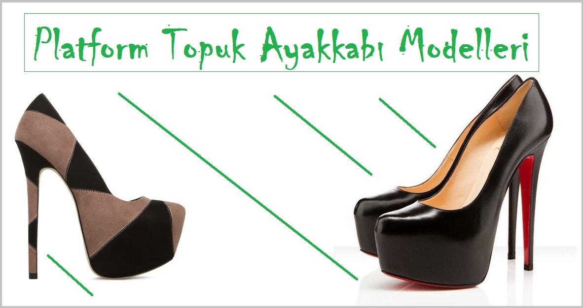 Platform Topuk Ayakkabı Modelleri – Ayakkabı Siparişi