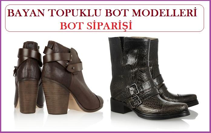 Bayan Topuklu Bot Modelleri – Bayan Bot Siparişi