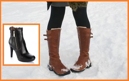 Platformlu Bayan Çizme Siparişi