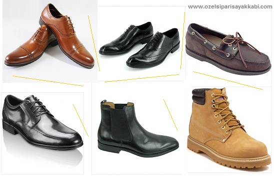 Kayseri erkek ayakkabı siparişi