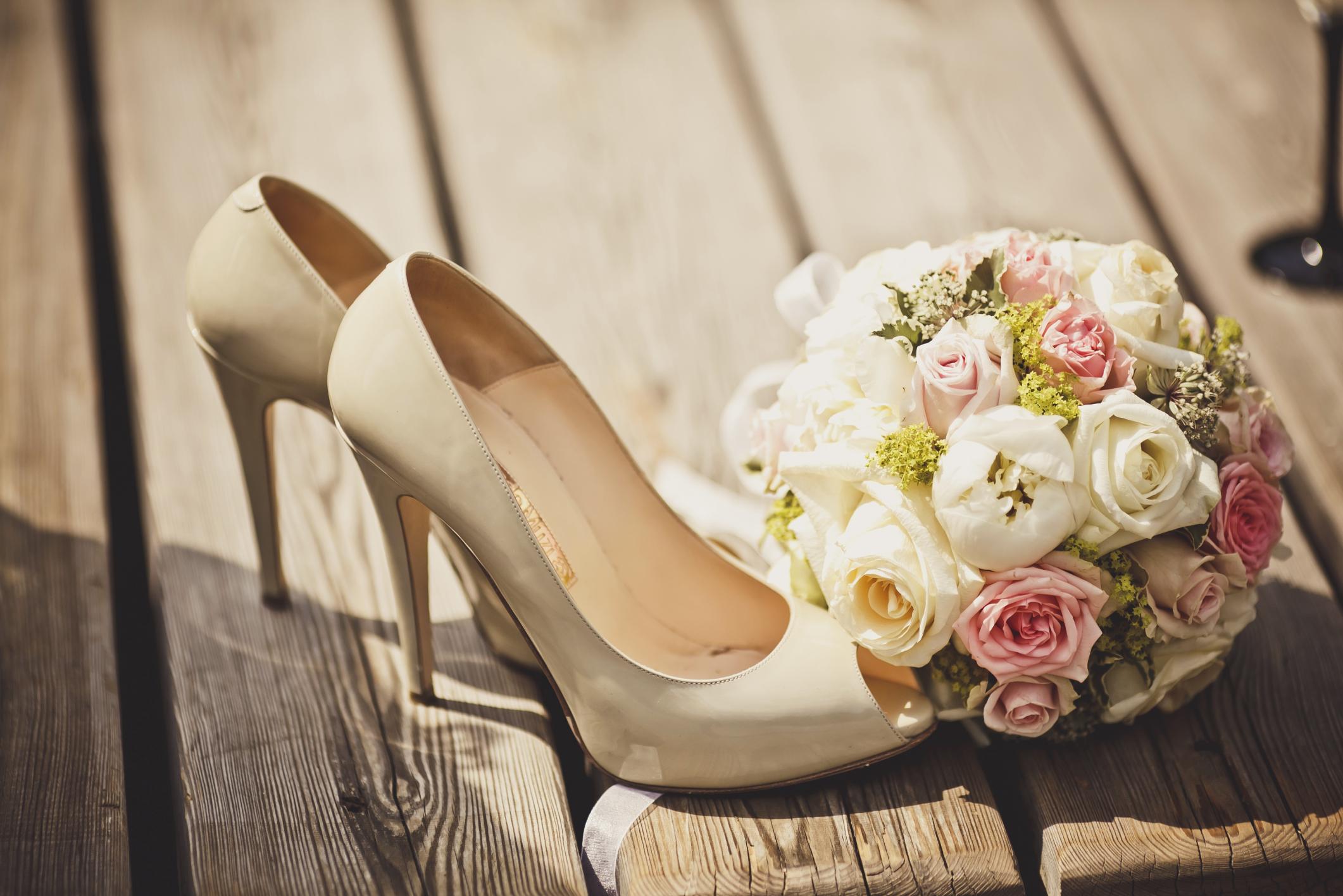Özel Taşlı Gelinlik Ayakkabı Modelleri