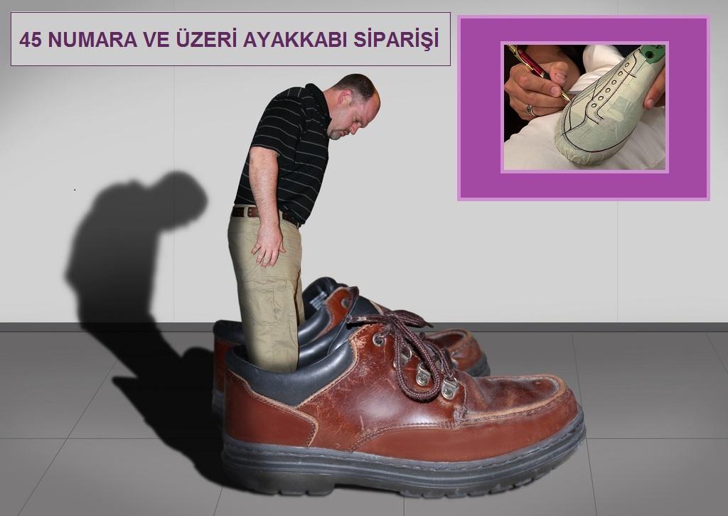 Beylikdüzü'nde Büyük Numara Erkek Ayakkabı Siparişi