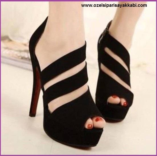 Bayan Abiye Ayakkabı Modelleri