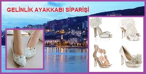 Bursa'da Gelinlik Ayakkabı Siparişi – Gizli Topuklu Gelin Ayakkabısı Modelleri