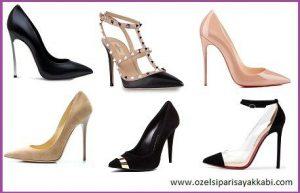 Stiletto ayakkabı siparişi