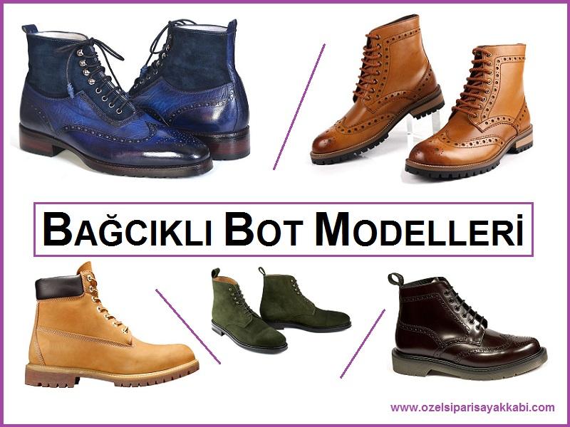 Bağcıklı Erkek Bot Modelleri – Özel Bot Siparişi