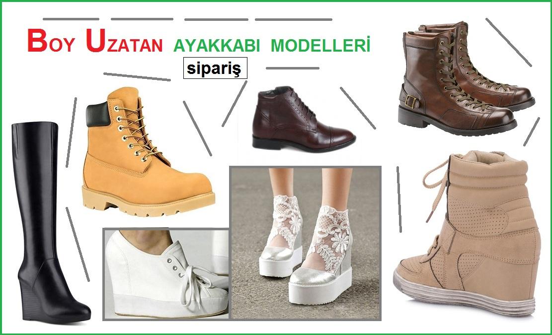 Boy Uzatan Ayakkabı Siparişi – Gizli Topuk Ayakkabı Modelleri