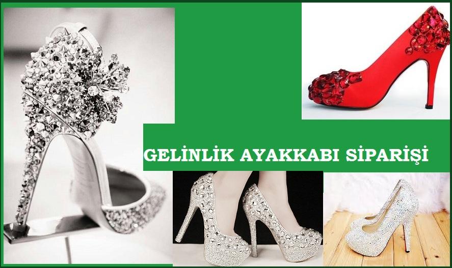 Taşlı Gelinlik Ayakkabı Modelleri – Özel Tasarım Gelin Ayakkabısı