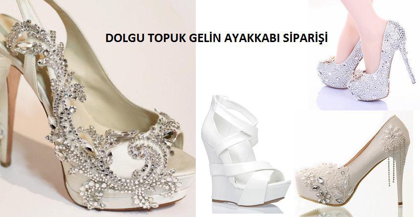 Dolgu Topuk Gelinlik Ayakkabı Modelleri – Ayakkabı Siparişi