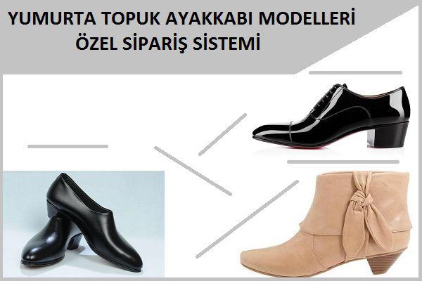 Yumurta Topuk Ayakkabı Modelleri