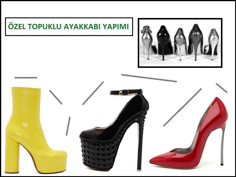 Özel Topuklu Ayakkabı Yapımı