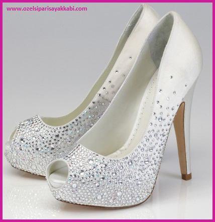 Yüksek Platform Topuklu Bayan Ayakkabı Siparişi