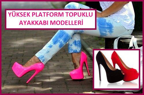 Yüksek Platform Topuklu Ayakkabı Modelleri – Ayakkabı Sipariş