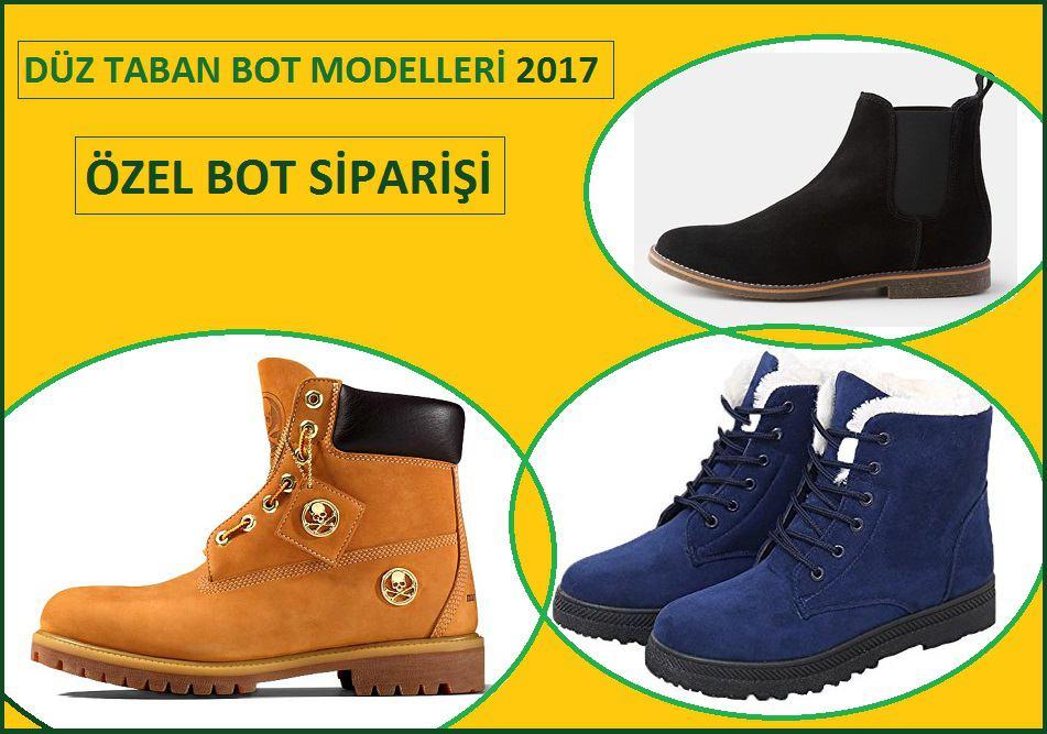 Düz Taban Bot Modelleri 2017