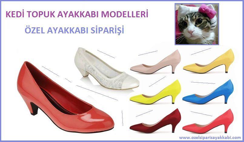 Kedi Topuk Bayan Ayakkabı Modelleri