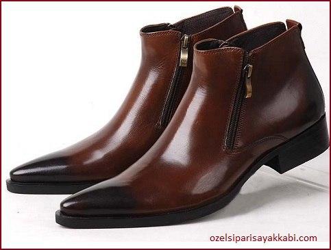 Fermuarlı Klasik Erkek Ayakkabı Modelleri - 2017