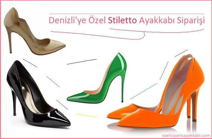 Denizli'ye Özel Stiletto Ayakkabı Siparişi