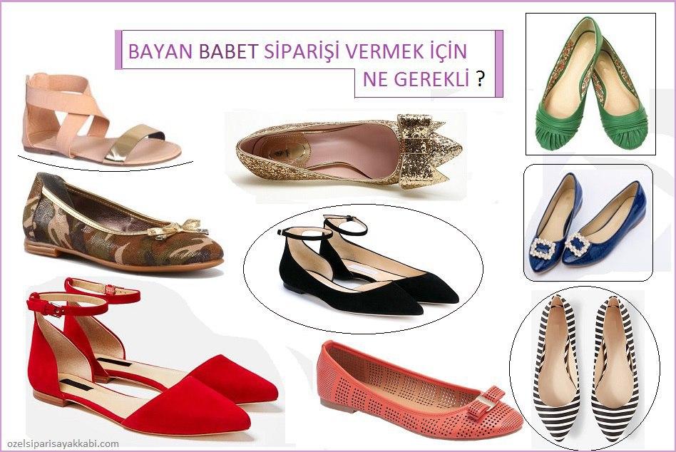 Bayan Babet Modelleri – Özel Babet Sipariş