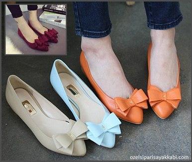 Bayan Babet Modelleri - Ayakkabı Sipariş
