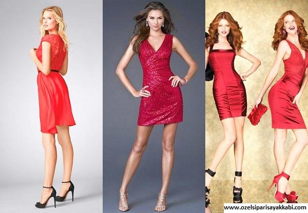 Kırmızı Elbiseye Uygun Ayakkabı Modelleri