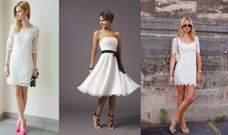Beyaz Elbise ile Uyumlu Ayakkabı Modelleri