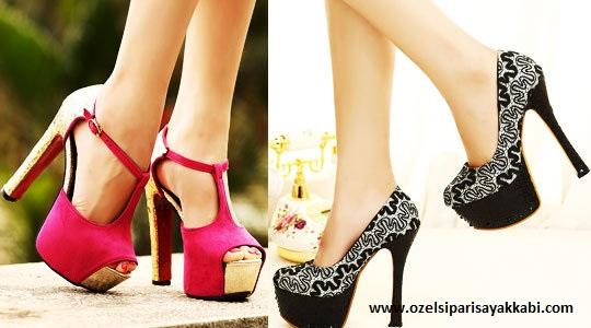Özel Tasarım Topuklu Ayakkabı Modelleri