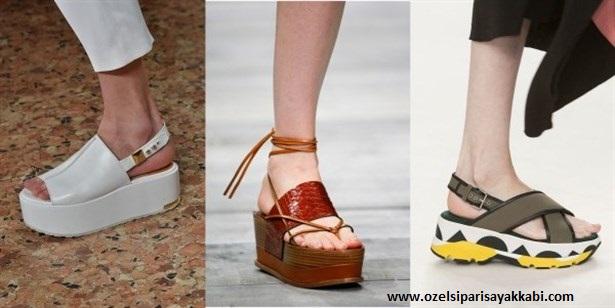 Yazlık Sandalet Ayakkabı Modelleri