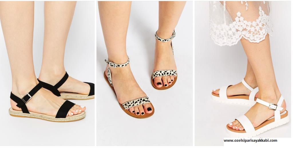 Yazlık Ayakkabı Modelleri – Sipariş Yaz Ayakkabı Kombinleri