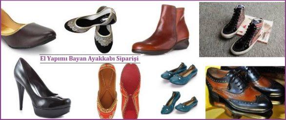 El Yapımı Bayan Ayakkabı Siparişi