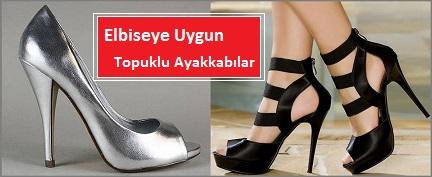 Elbiseye Uygun Topuklu Ayakkabı Modelleri