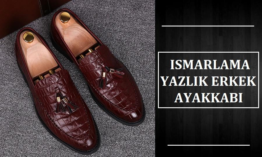 Ismarlama Yazlık Erkek Ayakkabı Modelleri