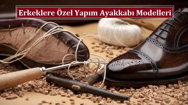 Erkeklere Özel Yapım Ayakkabı Modelleri