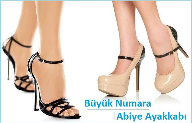 Büyük Numara Bayan Abiye Ayakkabı Siparişi