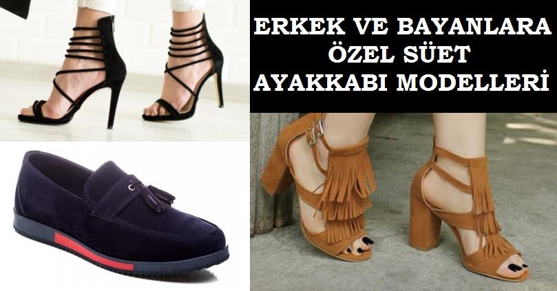 Süet Ayakkabı Modelleri 2017