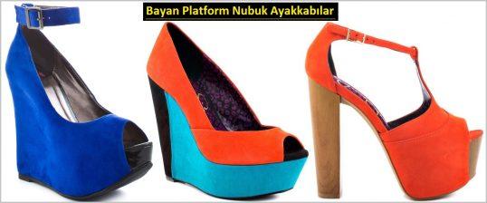 Platformlu Nubuk Ayakkabı Modelleri