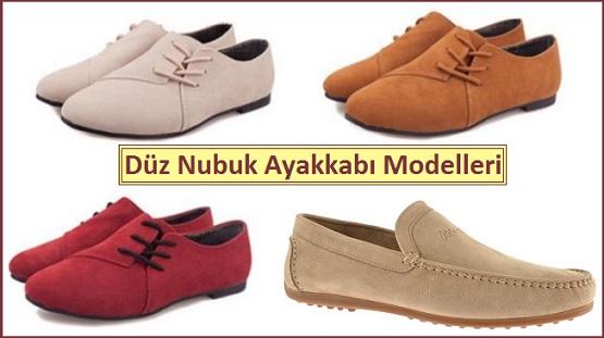 Düz Nubuk Ayakkabı Modelleri