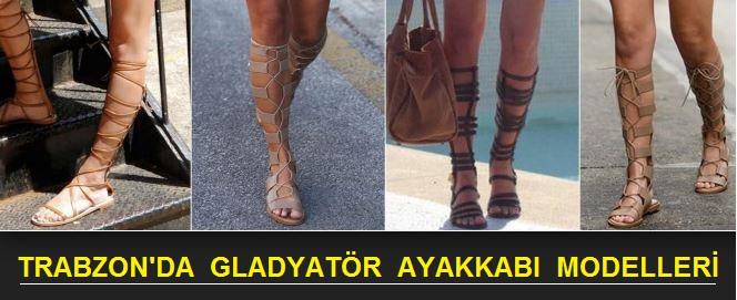 Trabzon'da Bayan Gladyatör Ayakkabı Modelleri