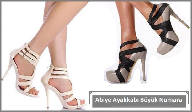 Büyük Numara Abiye Ayakkabı