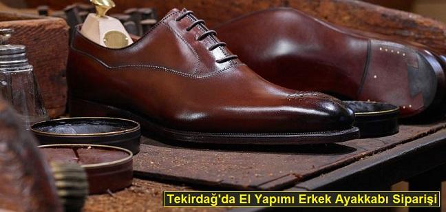 Tekirdağ'da Erkek Ayakkabı Siparişi