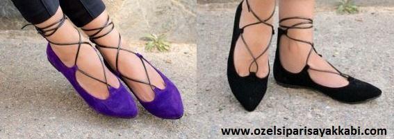 Süet Babet Ayakkabı Modelleri 2017
