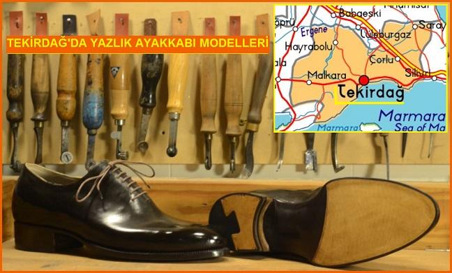 Tekirdağ'da Yaz Aylarına Özel Ayakkabı Yaptırın