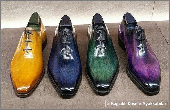 3 Bağcıklı Kösele Ayakkabı Modelleri