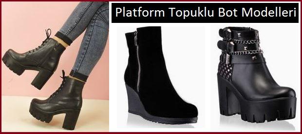 Platform Topuklu Bot Modelleri