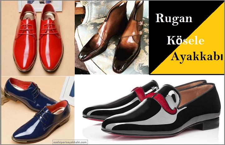 Rugan Kösele Ayakkabı Modelleri