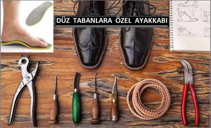 Düz Tabanlara Özel Ayakkabı Siparişi
